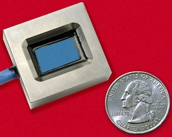 Viscosity Sensor withstands immersion in fluid stream.