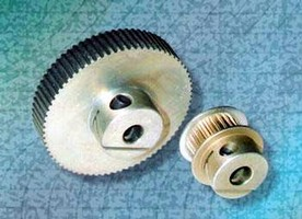 Timing Belt Pulleys feature integral hub fastening system.