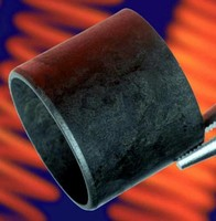 Plastic Bearing tolerates extreme temperatures and loads.