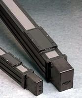 Rodless Actuator facilitates acceleration of large loads.