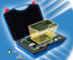 Computer Evaluation Kit offers wide range of interfaces.