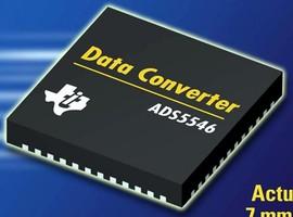 Data Converter delivers 14-bit, 190 MS/sec performance.