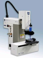 Cartesian Dispensing Robot stores up to 100 programs.
