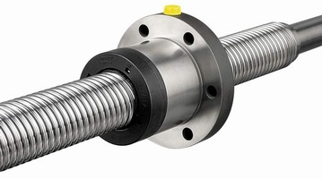 Ball Screws deliver high linear speeds with minimal noise.