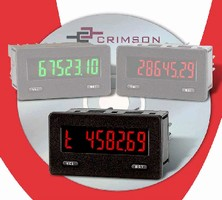 Digital Meters feature NEMA 4X/IP65 sealed front bezels.