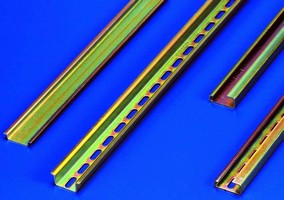 DIN Rail offers mechanical and corrosion resistance.