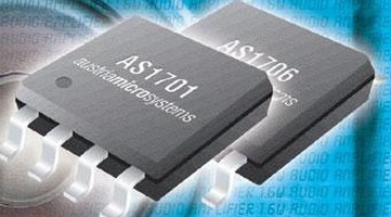 Audio Amplifiers deliver 1.6 W output power.