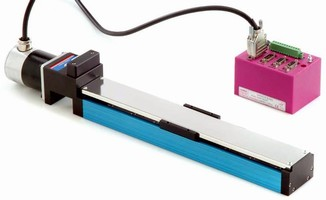 Miniature Linear Stage is suited for IVD instrumentation.