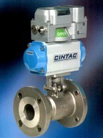 Automation System operates rotary on-off valves.