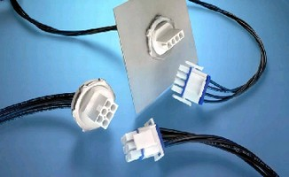 Connectors suit sealed bulkhead applications.