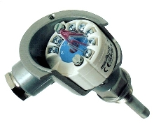 Temperature Transmitter plugs into Profibus network.