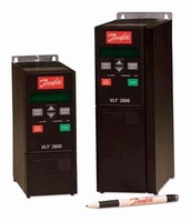 Variable Frequency Drives suit low power applications.