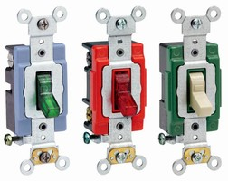 Illuminated Switches feature external clamp design.