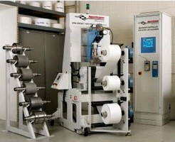 Lab Calender provides continuous ultrasonic bonding.