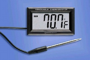 Module and Probe measure temperatures from -50 to +300°C.