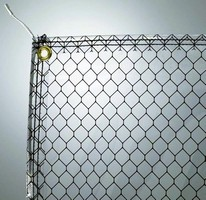 Soft-Wall Cleanroom Material grounds out electrical charges.