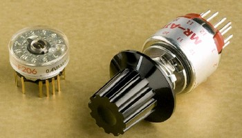 Rotary Switches are process sealed for automated soldering.