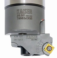 Boring Tool Insert Holders have adjustable chamfering angle.
