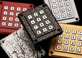 Keypads blend into any environment.