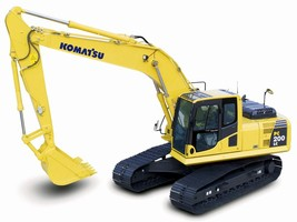 Hydraulic Excavators promote operator safety and comfort.