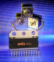 PWM Amplifier ICs drive industrial motors on 60 V supplies.