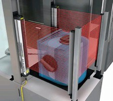Safety Light Screens dissipate electrostatic discharge.