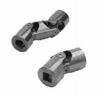 Universal Joints feature friction or needle bearings.