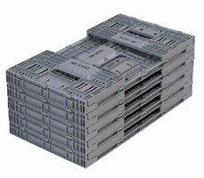 Returnable Containers offer 2-step assembly.