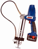 Cordless Grease Gun offers dual-speed operation.
