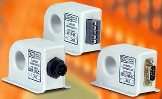 AC True RMS Current Transducer feature 0.25% accuracy.
