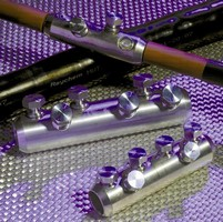 Aluminum Connectors are suited for underground splicing.