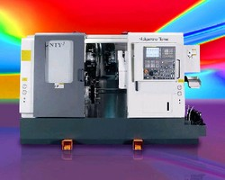 Turning Center enables 1-pass turning/machining/finishing.