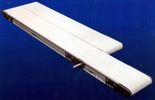 Twin-Belt Conveyor can be built to meet application needs.