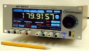 Angle Measurement Instrument provides dual inputs.