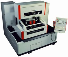 Twin Wire EDM Machine automates wire operational sequence.