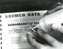 Ceramic Adhesive makes high temperature bonds.