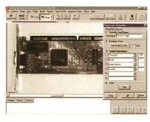 Machine Vision System runs under Windows 2000.