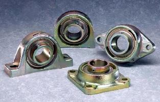 Mounted Bearings resist corrosion.