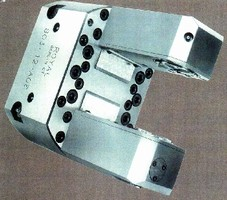 C Frame Fixtures enable complete machining.