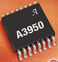 DMOS Full-Bridge Motor Driver has over-current protection.