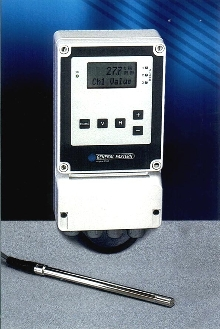 Humidity Analyzer monitors moisture in gases.