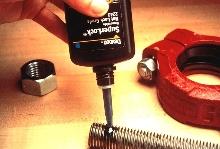 Machinery Adhesives lock and seal nuts and bolts.