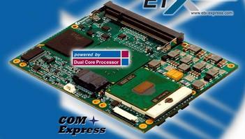SBC features Intel Core Duo Processor T2500.