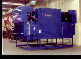 Tunnel Oven for Processing Resins/Fibers