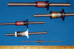 Nordex Anti-Backlash Nuts and Lead Screws