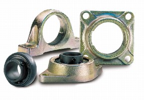 Bearings withstand extreme temperatures.