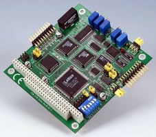 Multifunctional I/O Card features programmable gain.