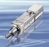 Electric Actuators are dust-tight and waterproof.