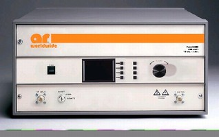 Broadband Amplifier offers selectable output impedance.