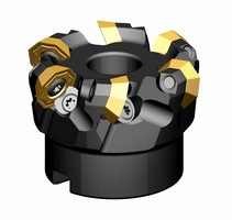 Kennametal's KSOM Mini Features New Geometry for High-Performance Milling of Multiple Materials